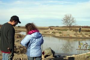 Création d'un étang et d'une plantation à vocation faunique