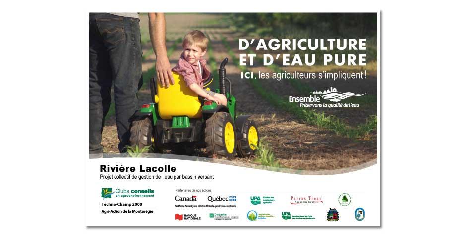 D'agriculture et d'eau pure affiche-1