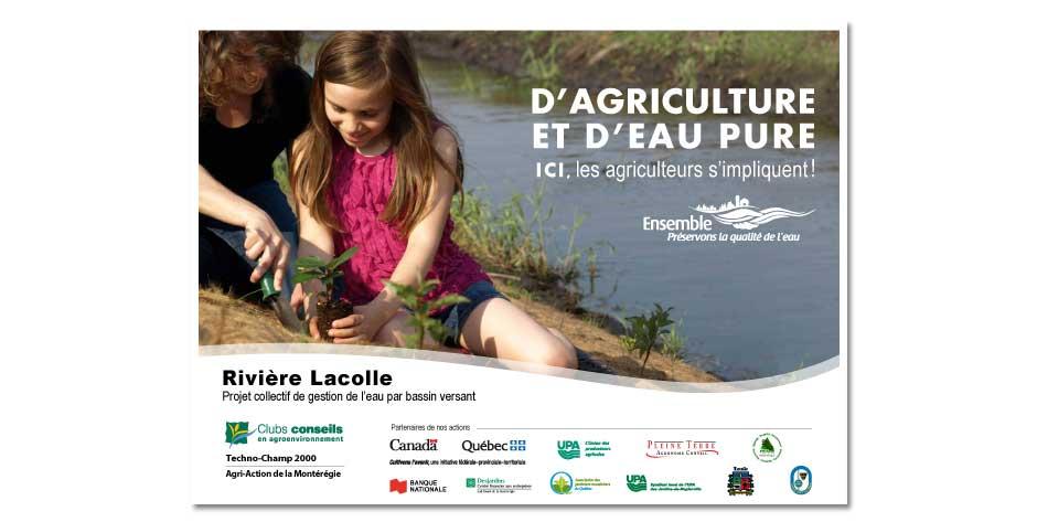 D'agriculture et d'eau pure affiche-3