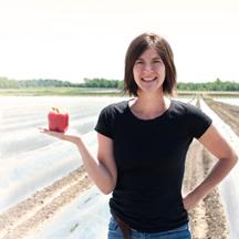 Nadia Surdek agronome