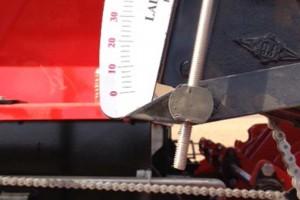 Calibration d'équipement (semoir, épandeur, pulvérisateur, etc.)